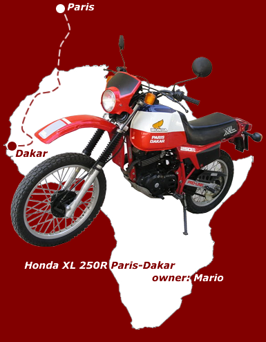XL 250R Paris-Dakar