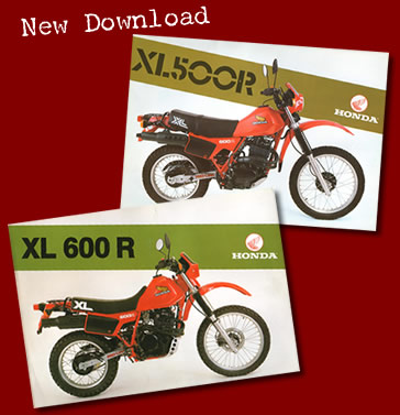 Brochure Honda XL